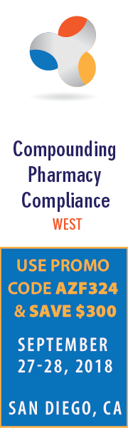Compounding Pharmacy Compliance West - Sep 27-28, 2018 - San Diego, CA