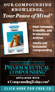 The International Journal of Pharmaceutical Compounding