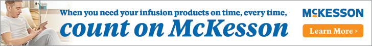 Infusion Products On Time, Every Time - Count on McKesson