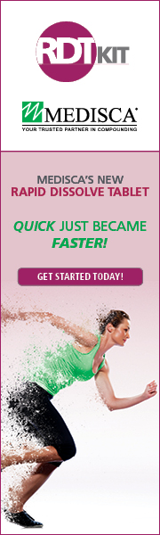 Medisca's New Rapid Dissolve Tablet - Quick just became Faster!