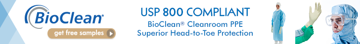 Bioclean Cleanroom PPE - USP 800 Compliant - Superior Head-to-Toe Protection