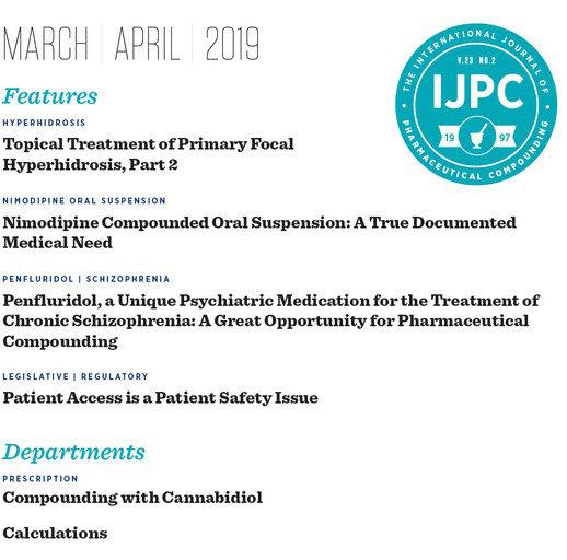 IJPC Mar/Apr 2019 Table of Contents