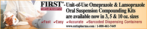 FIRST Omeprazole & Lansoprazole Oral Suspension Compounding Kits Now Available. Fast-Easy-Accurate-Barcoded Containers