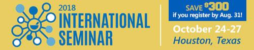 PCCA International Seminar 2018 - October 24-27, Houston Texas