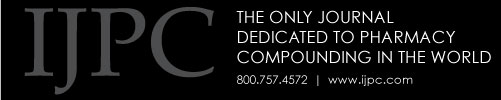 IJPC - The Only Journal Dedicated to Pharmacy Compounding